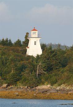 Abbott's Harbour Lighthouse, Nova Scotia Canada at Lighthousefriends.com Walk In The Light, Beacon Of Light, Light Of The World, Beacon Lighting, Atlantic Canada, Cape Breton, Beautiful Sunrise, Light House, Nova Scotia