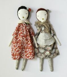Did you see the story in February's Living on Jess Brown and her amazing handmade dolls?