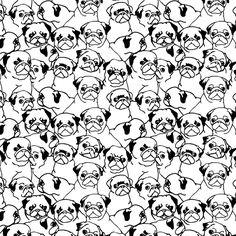 Oh Pugs Mug by Huebucket | Society6