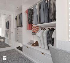 Garderoba połączona z sypialnią - zdjęcie od Ale design Grzegorz Grzywacz