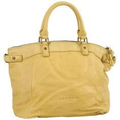 Gelbe Handtasche 199,00€ ♥ Hier kaufen: http://www.stylefruits.de/handtasche-in-gelb-liebeskind/p5114622 #Handtasche #Gelb #Liebeskind