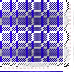 Hand Weaving Draft: Page 86, Figure 5, Textile Design and Color, William Watson, Longmans, Green & Co., 4S, 5T - Handweaving.net Hand Weaving and Draft Archive