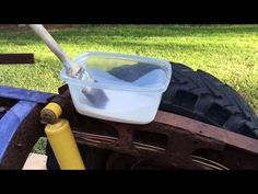 Rust Conversion The EasyWay How To Remove Rust, Removing Rust, 1955 Chevy, Car Shop, Wheelbarrow, Chevy Trucks, Conversation, Automobile, Woodworking