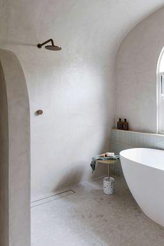 GET THE LOOK MAIN BATHROOM — THREE BIRDS RENOVATIONS Cement Bathroom, Bathroom Shop, Family Bathroom, Bathroom Renos, Bathroom Renovations, Bathroom Wall, Small Bathroom, Bathrooms, Bathroom Ideas