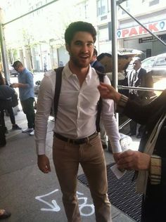 Darren Criss #NYC