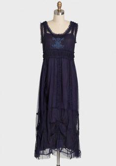 Violet Art Dress By Nataya