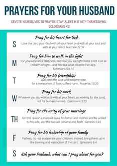 Free printable prayer prompt with daily verses to pray for your husband. How to pray the Scriptures for him. War room prayers. Prayers for husband job. Prayers for husband marriage. Daily prayers for your husband. Warroom prayers for spouse. Praying For Husband, Praying For Your Husband, Praying Wife, Bible Verse For Husband, Husband Wife, Prayer Verses, Prayer Quotes, Bible Verses, Strong Relationship Quotes