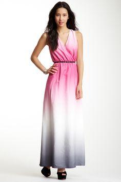 ECI Dip Dye Maxi Dress on HauteLook