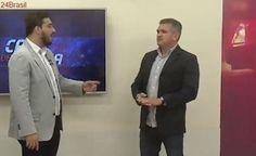 VEJA VÍDEO – Clima esquenta entre apresentador e convidado durante debate sobre segurança
