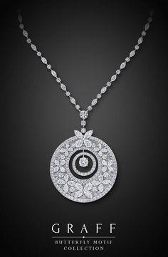 Graff Diamonds: Butterfly Motif Necklace