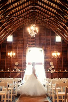 Rustic Chic Barn Wedding| Photo by: Will Pursell Photography