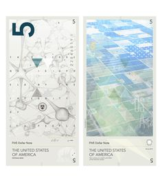 "Travis Purrington, ""WORTH: The Aesthetics of Global Interest"", Banknote / Currency design [USD] master's thesis, Basel School of Design, 2011."