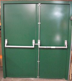 We have a wide range of steel fire exit doors ready-made for prompt delivery. Fire Rated Doors, Brutalist, Steel, Steel Grades, Iron