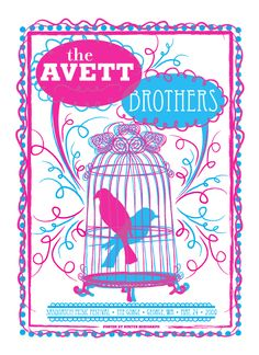 So, we hadn't heard of The Avett Brothers yet, but if we had, this would have been an awesome way to spend my birthday...