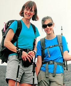 MOUNTAINEERS: Jan Arnold and her daughter, Sarah Arnold-Hall, are back from a trip to Africa, which included climbing Mt Kilimanjaro.   ...