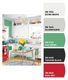 Paint colors from Chip It! by Sherwin-Williams (main floor - open concept)