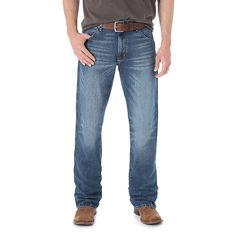 Wrangler Men's Retro Slim Fit Bootcut Jeans (Size: 40 x 34) Blue