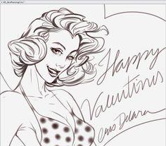 Happy Valentines Day to u!! by CrisDelaraArt on DeviantArt
