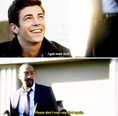 The Flash #1x07 #Season1 - Barry and Joe