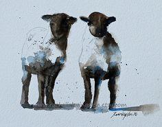 baby nursery decor nursery art print Sheep by rachellelevingston, $25.00