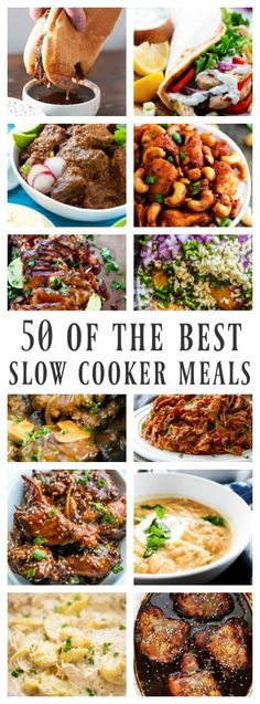 50 OF THE BEST SLOW COOKER MEALS - A Dash of Sanity