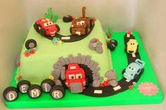 Şimşek McQueen ve Arkadaşları Pasta. Renkli Tatlar Butik Pasta. İletisim : 0533 6688680.