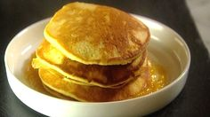 Pancakes à la Patrice Demers - Recettes - À la di Stasio Quebec, Muffins, Patrice, Breakfast, Desserts, Recipes, Food, Tv, Tapas