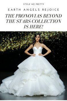 de1baaec89d These Pronovias Gowns From Barcelona Bridal Week Are Out Of This World  Gorgeous