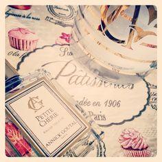 En guise de dessert, un test de la poire juteuse de Petite Chérie, #parfum #AnnickGoutal.