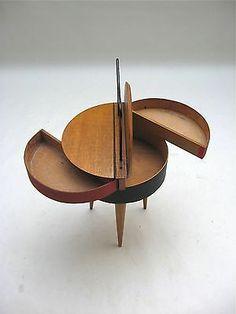 • Rare Tripod Storage Cabinet 50,s le corbusier perriand royere guariche eames era