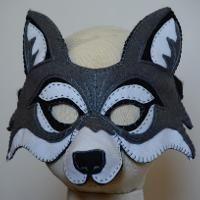 Wolf Mask PDF Pattern