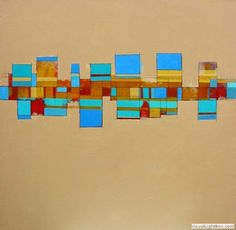 New Community 2  acrylic on canvas 70x70x4