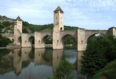 Valentré bridge, over Lot river [1378 - Cahors, Midi-Pyrénées, France]