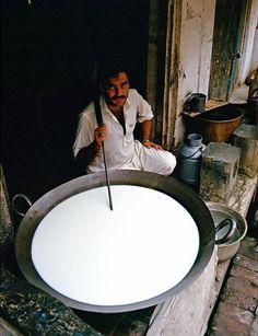 a milk seller