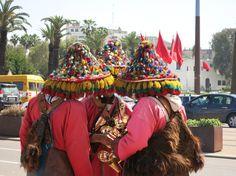 Marocco colori persone pittoreschi