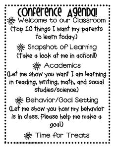 Let your students SHINE with them showcasing their learning during student led conferences!