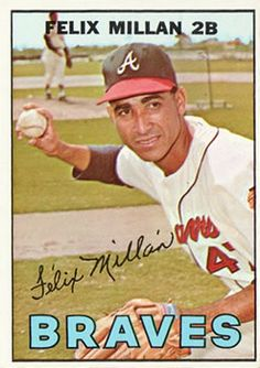 33 Best 1967 Topps Atlanta Braves Images In 2012 Atlanta Braves