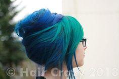 kittyrawrish -   - -   - Blue (Pravana)   - Green (Pravana)   - Violet (Pravana)