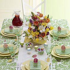 Budget Home»Crafts»Set an Easter table with style Set an Easter table with style Keep these crafty tips in mind when planning your Easter table decorations.