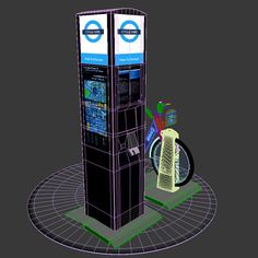 Barclays Cycle Hire Model available on Turbo Squid, the world's leading provider of digital models for visualization, films, television, and games. Bookends, Models, 3d, Digital, Templates, Fashion Models