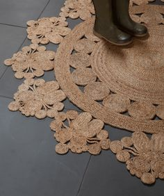 Armadillo & Co. rugs - detailed yet neutral, natural and practical materials