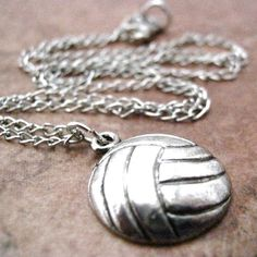 Volleyball necklace  gift for seniors... Next year