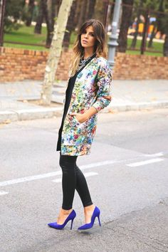 Black And Multi Floral Street Chic Outfit  # #TrendyTaste #Fall Trends #Fashionistas #Best Of Fall Apparel #Outfit Street Chic #Street Chic Outfits #Street Chic Outfit Black and Multi Floral #Street Chic Outfit Clothing #Street Chic Outfit 2014 #Street Chic Outfit Outfits #Street Chic Outfit How To Style