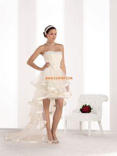 Court/Mini Dentelle Naturel Robes de mariée 2014