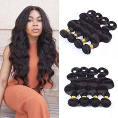 Glueless Silk Top Lace Wigs Pre-Plucked Body Wave Full Lace Wigs Human Hair With Baby Hair For Black Women Natural Hair Line Short Hair With Bangs, Braids For Long Hair, Hairstyles With Bangs, Weave Hairstyles, Bob Haircuts For Women, Popular Haircuts, Natural Hair Styles For Black Women, Braids For Black Women, Braids For Kids