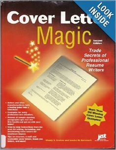 cover letter magic 4th ed trade secrets of professional resume writers wendy s