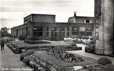 Karstadt Berlin ca.1930 Dachgarten-Restaurant (am Hermannplatz)