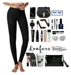 Everyday Show by yogareflex on Polyvore featuring Christian Louboutin, Versace, Marc Jacobs, Olivia Burton, Richmond & Finch, Huda Beauty, MAC Cosmetics, Urban Decay, MAKE UP FOR EVER and Sephora Collection