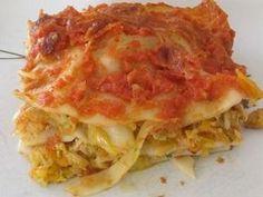 un très bon plat complet et léger pour 4 personnes = 4SP Liberté lasagnes terre et mer