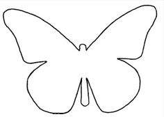 my pretty way of life: Ombre hart van vlinders